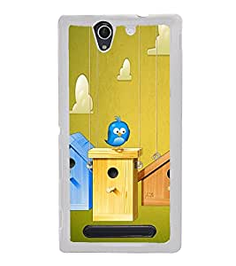 Bird House 2D Hard Polycarbonate Designer Back Case Cover for Sony Xperia C3 Dual :: Sony Xperia C3 Dual D2502