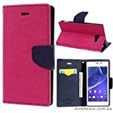 Micromax Canvas Juice 2 AQ5001 Flip Cover Mercury Case (Pink) By First 4