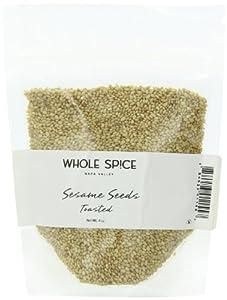 Whole Spice Sesame Seed Toasted, 4-Ounce