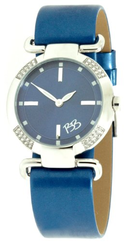 Betty Barclay BY075.00303.727 Ladies Stone Encrusted Watch with Blue Strap