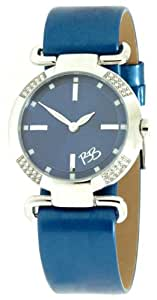 Betty Barclay Women's Quartz Watch with Blue Dial Analogue Display and Blue Leather Strap BB075.00.303.727