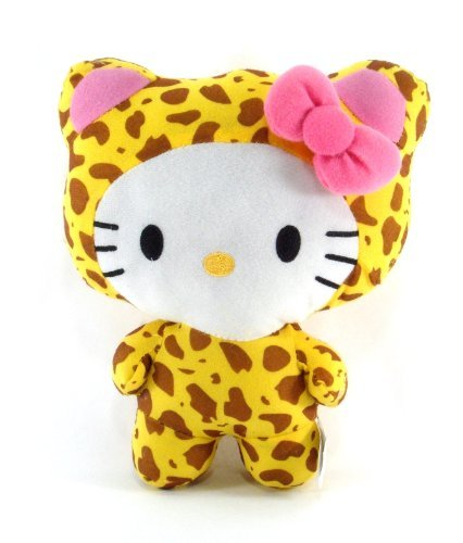 "Sanrio Hello Kitty 10"" Circus Animal Plush Hello Kitty Dress As A Cheetah"