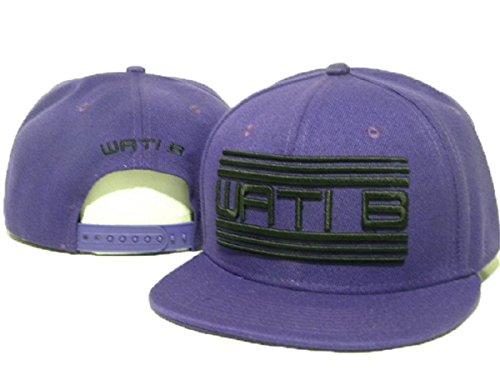 WATI B cappelli cappello registrabile di baseball (viola)