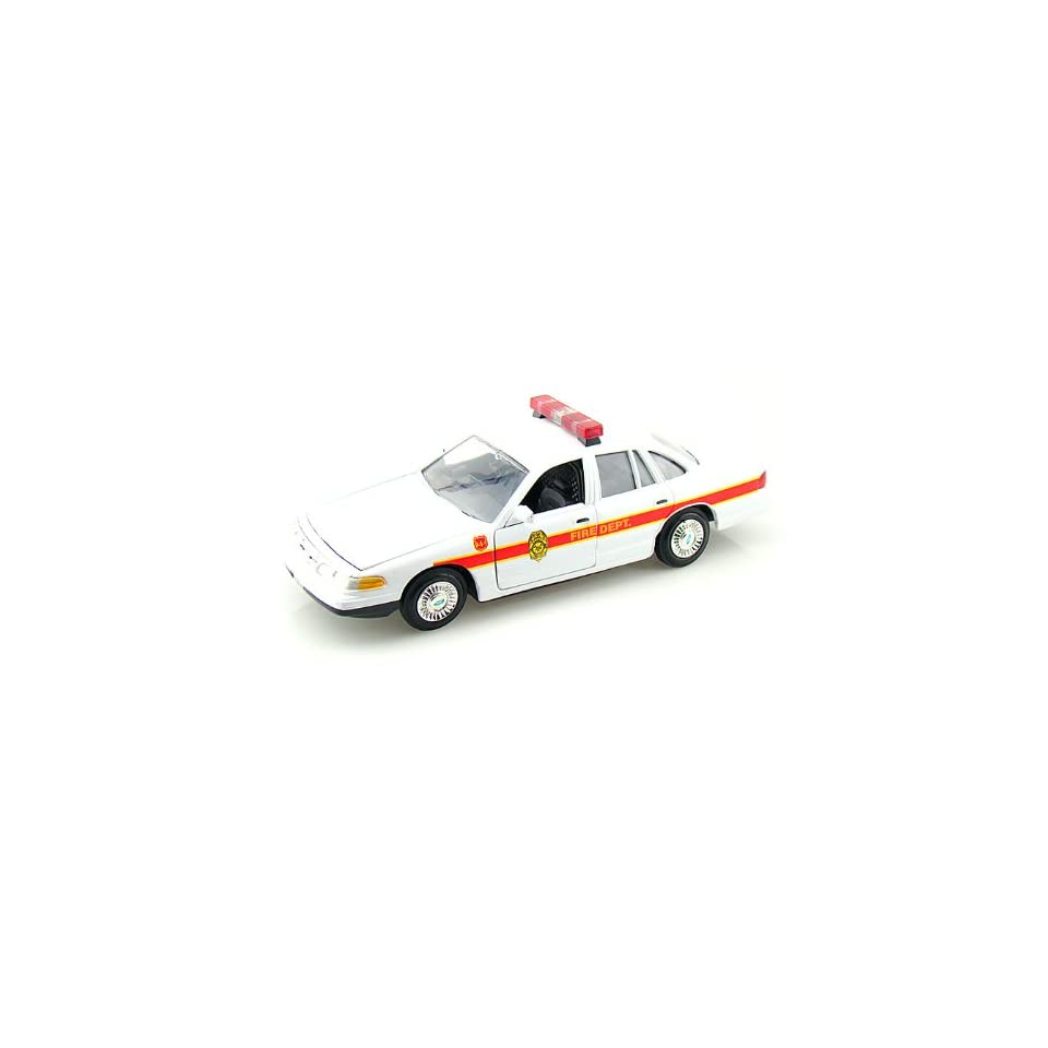 1998 Ford Crown Victoria Fire Chief Car 1/24