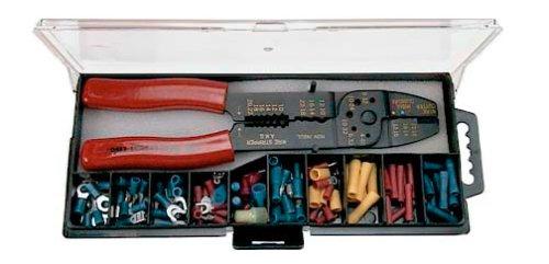 Gardner Bender Gk-15N Electrical 100-Piece Insulated Terminal & Crimping Tool Kit