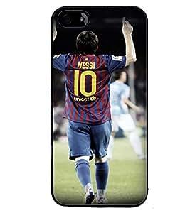 Printvisa Footballer In Action Back Case Cover for Apple iPhone 4S