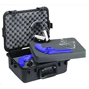 Plano 108021 Gun Guard AW Large Pistol Accessories Case with Deluxe Latches by Plano