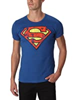 Logoshirt Superman - Logo - Tee-shirt mixte adulte - Bleu Azure