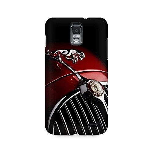 Motivatebox- Jaguar Premium Printed Case For Samsung S2 I9100/9108 -Matte Polycarbonate 3D Hard case Mobile Cell Phone Protective BACK CASE COVER. Hard Shockproof Scratch-