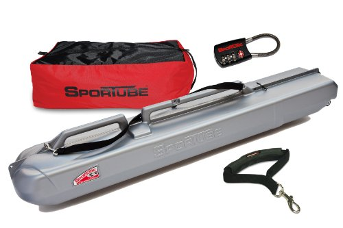 Sportube Series 2 Platinum Deluxe Hard Sided Skicase - Platinum