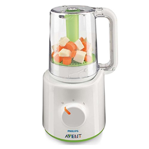 Philips AVENT SCF870/21 Combined Baby Food Steamer and Blender (Steamer And Blender Baby compare prices)