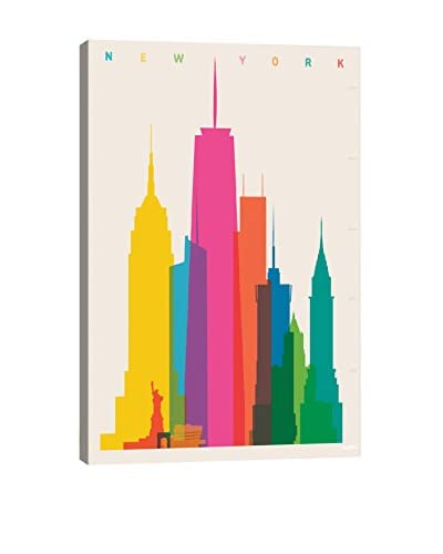 Yoni Alter New York City Canvas Print, Multi, 26 x 18
