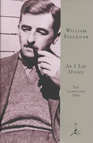 an analysis of the symbolical biography of william faulkner in the novel as i lay dying Sir william dunn reader in  characters which appear to vary continuously generally prove on analysis to be due to the interaction of a number of such.