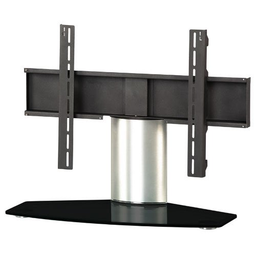 Sonorous PL 2310-B-SLV Universal Table Top Stand - Black and Silver