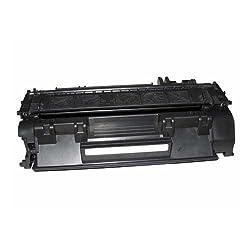 2 Pack CE505A (05A) Compatible Toner Cartridge For HP Laser Jet P2035, P2035n, P2055, P2055d, P2055dn, P2055x Printers