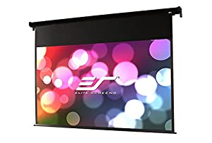 Elite Screens VMAX Dual Series, 95-inch 2.35:1 / 100-inch 16:9, Dual Aspect Ratio Electric Projection Screen, VMAX100H95C
