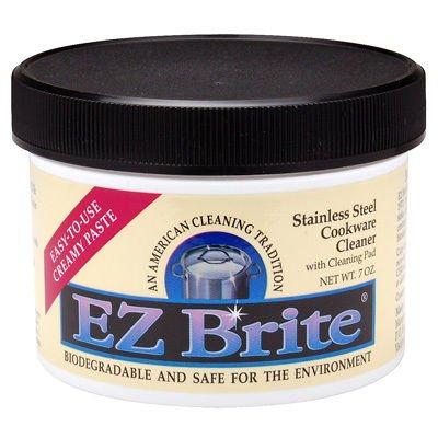 EZ Brite Stainless Steel & Chrome Cleaner / Polish 7 oz