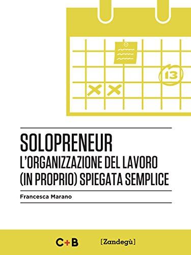 Solopreneur: L'organizzazione del lavoro (in proprio) spiegata semplice (I Prof)