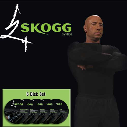 SKOGG System Kettlebell Workout 5 DVD Set