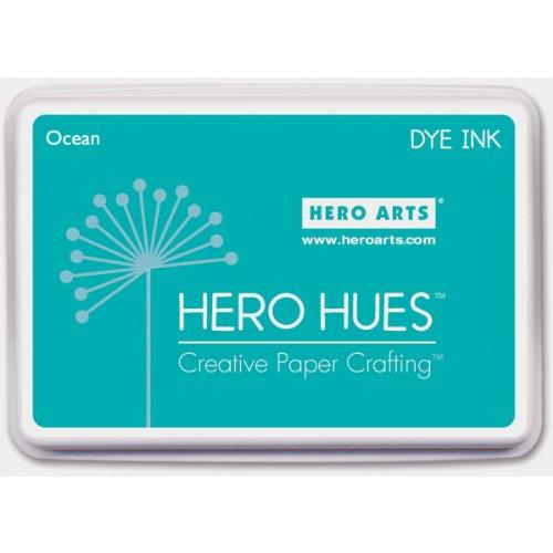Hero Hues Dye Ink Pad-Ocean Af216 AF216