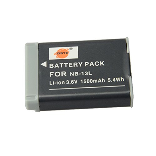 DSTE® NB-13L Replacement Li-ion Battery for Canon PowerShot G7X Digital Camera as NB13L цифровая камера canon powershot g7 g7x