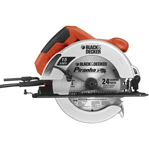 417Fm1ecY2L Black & Decker CS1030L 13 Amp 7 1/4 Inch Laser Circular Saw with Soft Grips