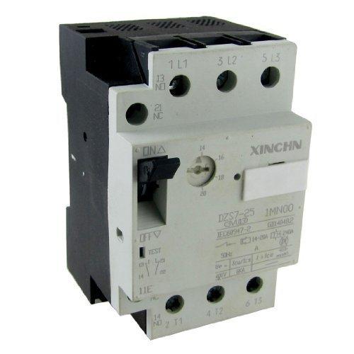 sourcingmapr-14-20a-annuels-1-no-1nc-25a-3-poles-disjoncteur-moteur-de-protection-decran