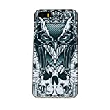 Mysterious Skull Owl Pattern PC Hard Case for iPhone 5/5S