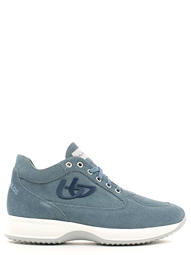 Blu Byblos 662050 Sneakers Uomo Scamosciato Jeans Jeans 41