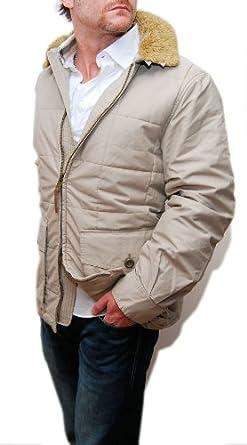 Buy Polo Ralph Lauren Double RL RRL Mens Quilted Coat Jacket Beige Brown by RALPH LAUREN