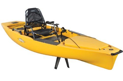 5#R8Perfect Cheap Hobie Mirage Pro Angler 14 Kayak 2013 Olive