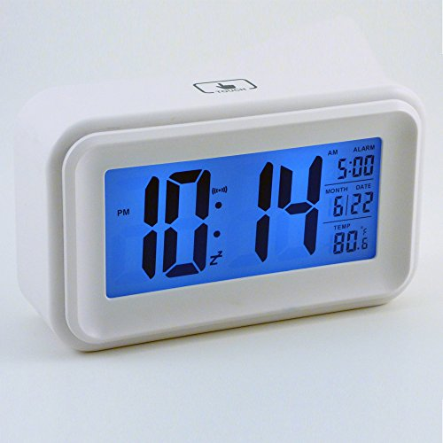 best travel alarm clock by islu home kitchen a multi. Black Bedroom Furniture Sets. Home Design Ideas