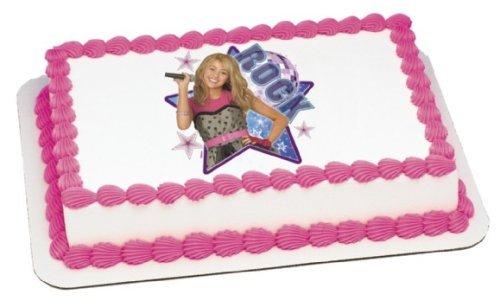 Hannah Montana Rock! Edible Image Hannah Montana Edible Cake Image