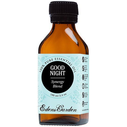 Good Night Synergy Blend Essential Oil by Edens Garden (Comparable to DoTerra's Serenity & Young Living's Peace & Calming Blend)- 100 ml
