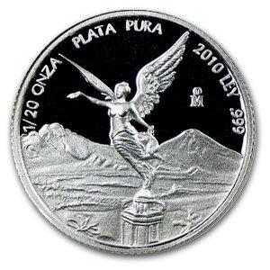 2010 1/20 oz Proof Silver Mexican Libertad