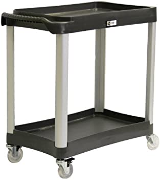 TRINITY 2-Tier Commercial Grade Utility Cart