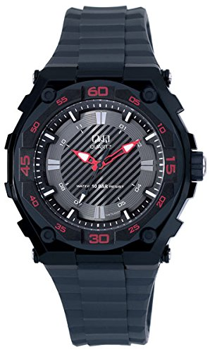 Q And Q Men Sport Adventure Analog Water Resistant Watch