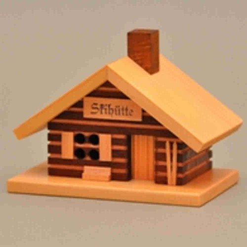 De madera Skihütte