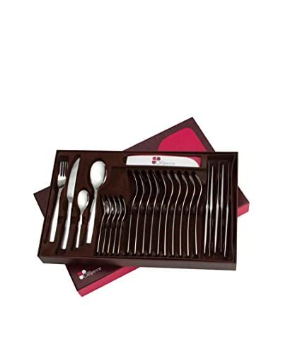 Guy DeGrenne 24-Piece Ovation Flatware Set, Mirror
