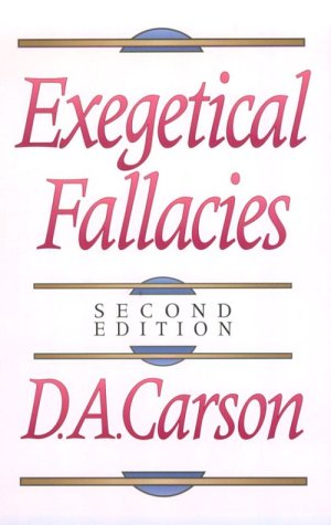 Help, Textbook Solutions & Study Documents for Exegetical Fallacies