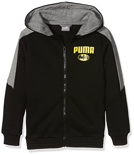 Puma Giacca da bambino BATMAN Hooded Sweat Jacket, Black, 104, 839673 01