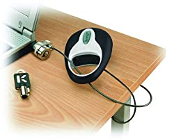 Kensington 64053 MicroSaver Retractable Portable Notebook Lock (PC/Mac)