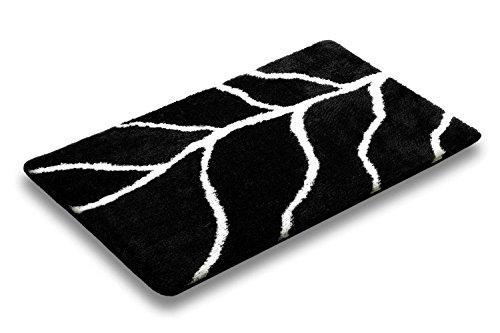pino-nero-tappetino-da-bagno-decorativo-tappeto-antiscivolo-taftato-a-mano-pelo-lungo-acrilico-black