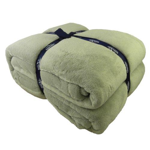 Serasoft Polyester Blanket Color: Tea, Size: Full/Queen