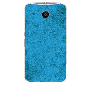 Skin4gadgets Royal English Pastel Colors in Grunge Effect, Color - Dodger Blue Phone Skin for NEXUS 6