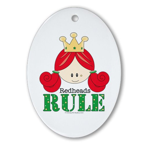 cafepress-redheads-rule-redhead-oval-ornament-oval-holiday-christmas-ornament