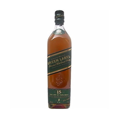 Johnnie Walker discount duty free Johnnie Walker Green Label 15 Year Old Blended Malt Whisky