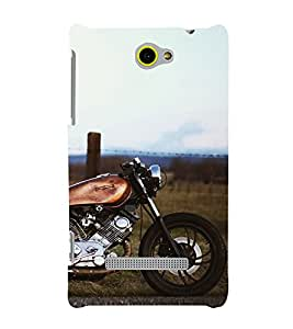 Wonderful Bike 3D Hard Polycarbonate Designer Back Case Cover for HTC Windows 8S