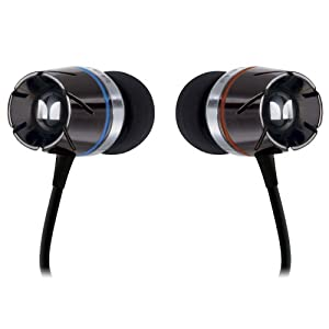 Monster Cable Turbine High Performance Noise Isolating In-ear Headphones