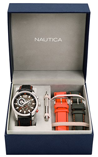 nautica-herren-armbanduhr-xl-analog-quarz-leder-a22564g